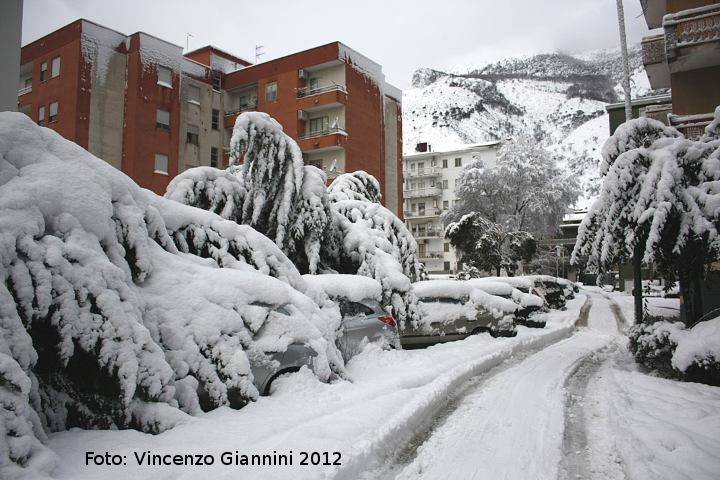 Neve sotto casa
